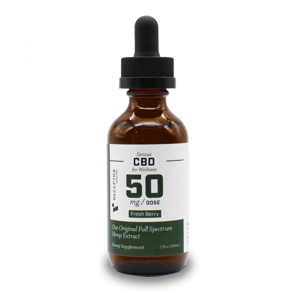 Serious Wellness CBD 50mg/dose (2oz)