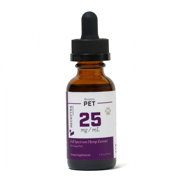 Receptra Pet Tincture 25mg/dose (1oz)